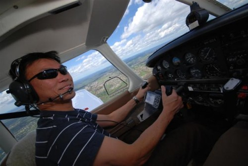 Ps. Yew Meng; ex-Singapore air force - from cockpit to pulpit.