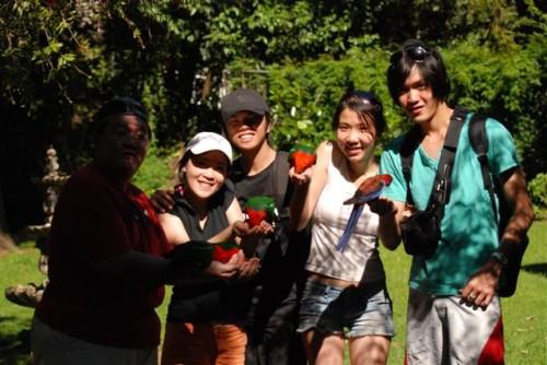 Kodomo, Edna, Ben, Sabrina, and Wilson.