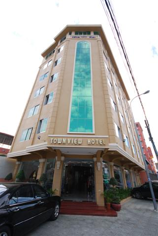 Townview Hotel, our accomodation for the first 3 nights.