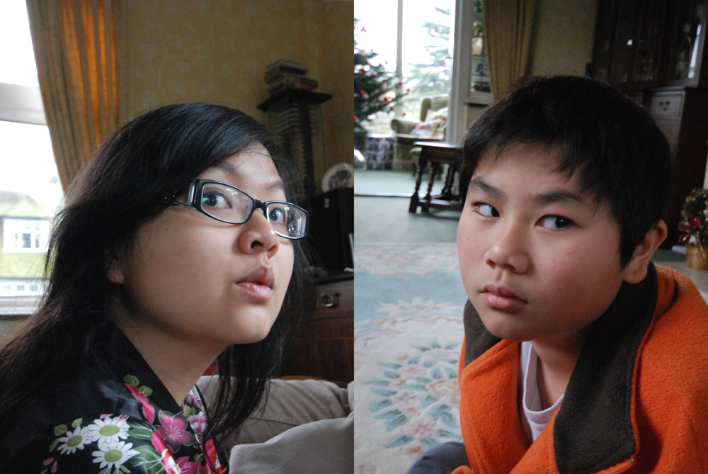 My short siblings...so obvious they're related...